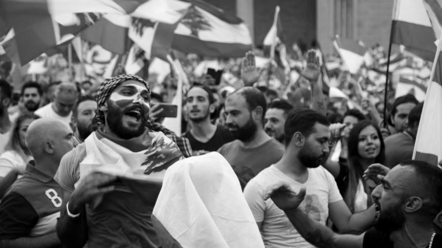 Libano protestas contra el gobierno la-tinta