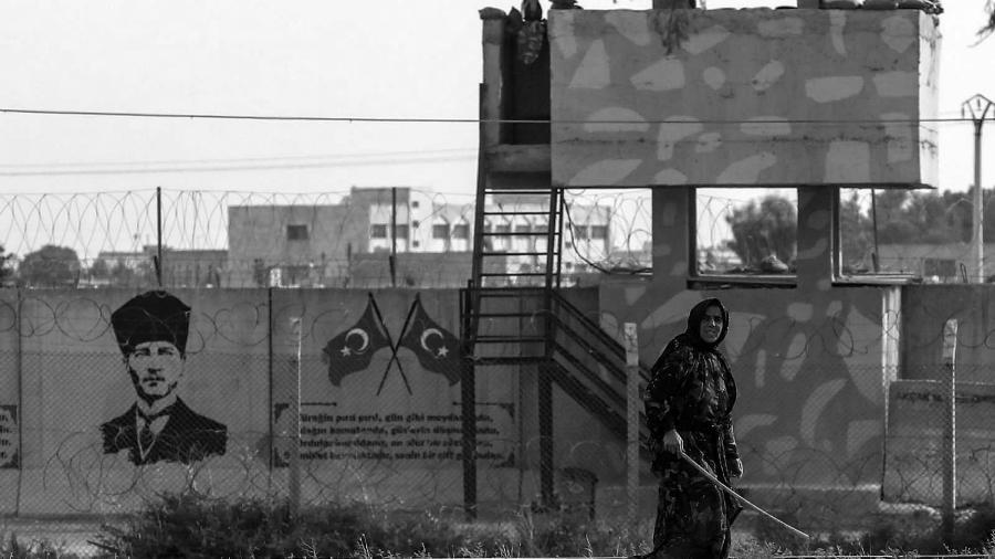 Siria frontera con Turquia la-tinta