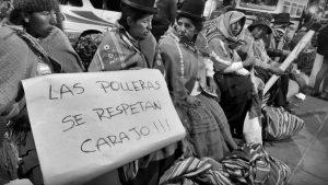 """Guzmán: """"Nos quieren explotadas en sus tierras y de sirvientas en sus casas, por eso, este golpe necesita ser racista"""""""
