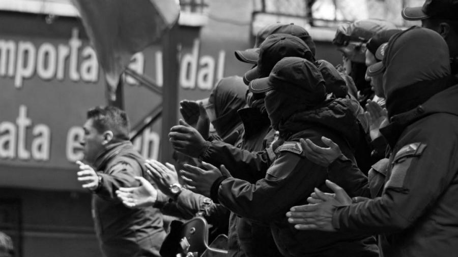 bolivia policia golpe de estado la-tinta