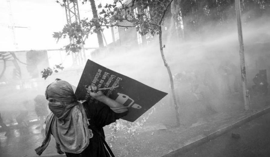 chile manifestantes reprimidos la-tinta