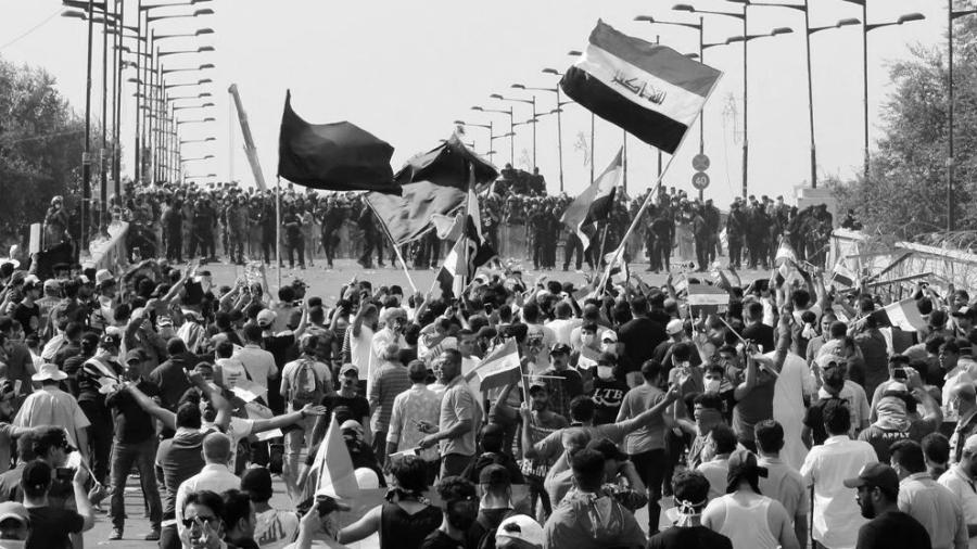 irak manifestacion la-tinta
