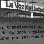 Paro y movilización por despidos encubiertos en La Voz y Vía Córdoba