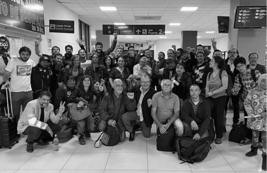 Bolivia delegacion argentina la-tinta