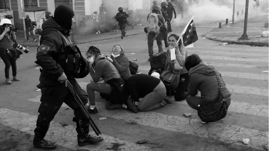 Bolivia golpe de estado militares la-tinta