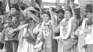 """Bolivia: """"Este es el momento de las mujeres"""""""