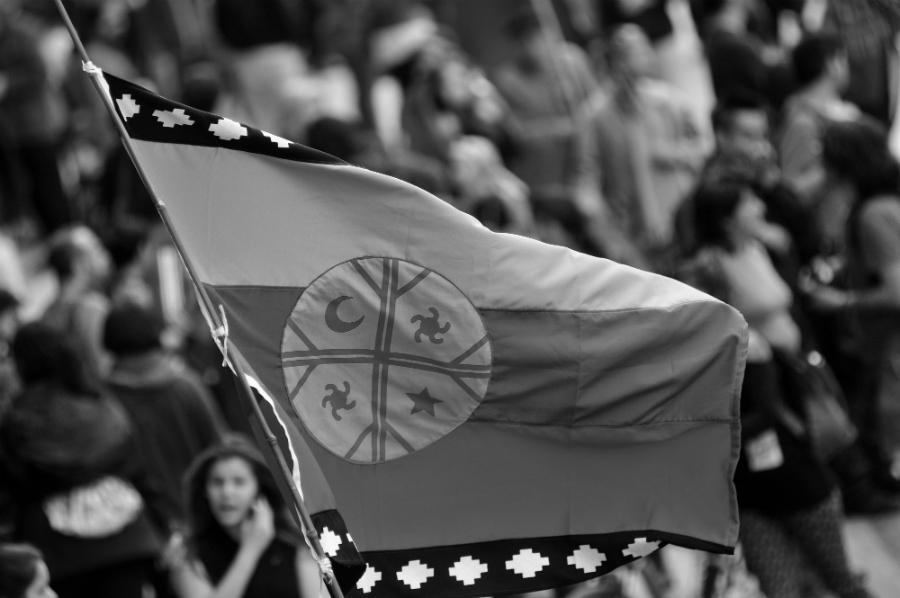 Chile bandera mapuche la-tinta