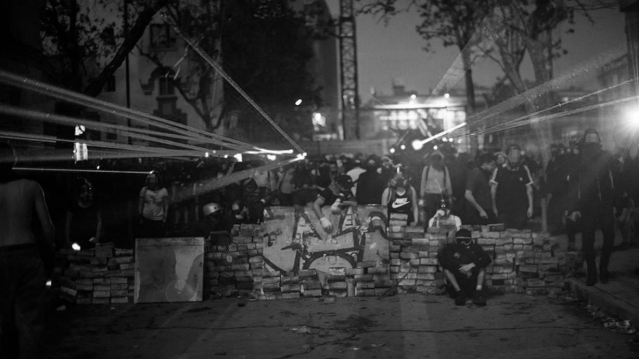 Chile barricada popular la-tinta