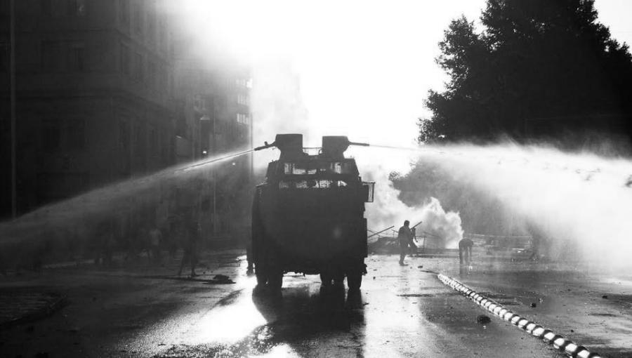 Chile represion en las calles la-tinta