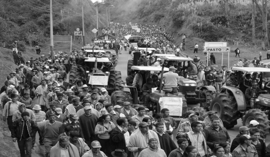 Colombia paro nacional campesinos la-tinta