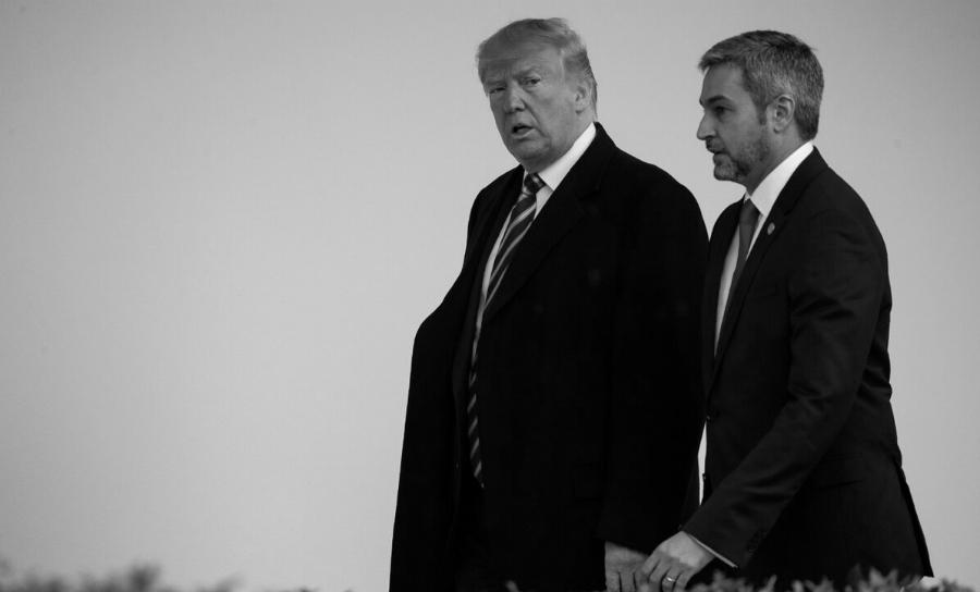 Estados Unidos Mario Abdo Donald Trump la-tinta