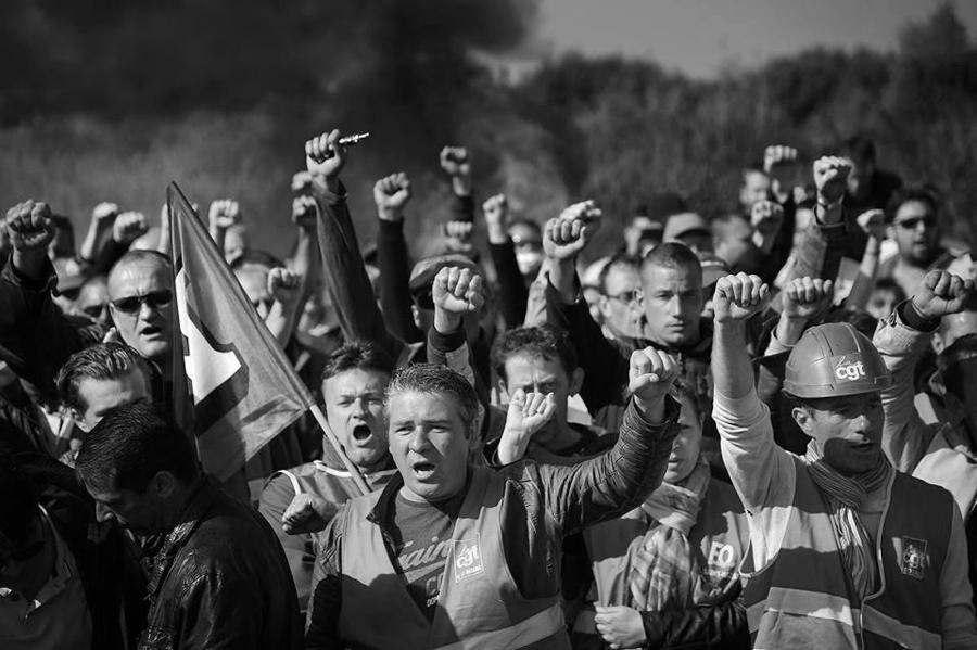 Francia trabajadores CGT la-tinta