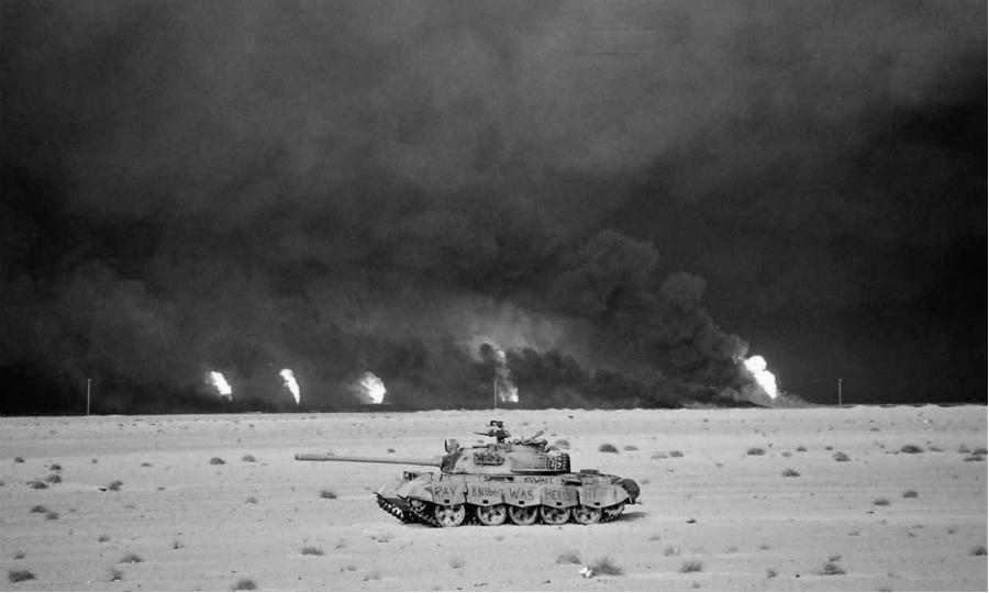 Irak pozos petroleros la-tinta