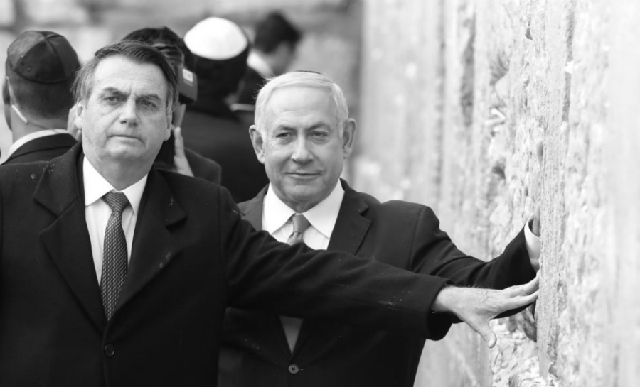 Israel netanyahu Jair Bolsonaro la-tinta