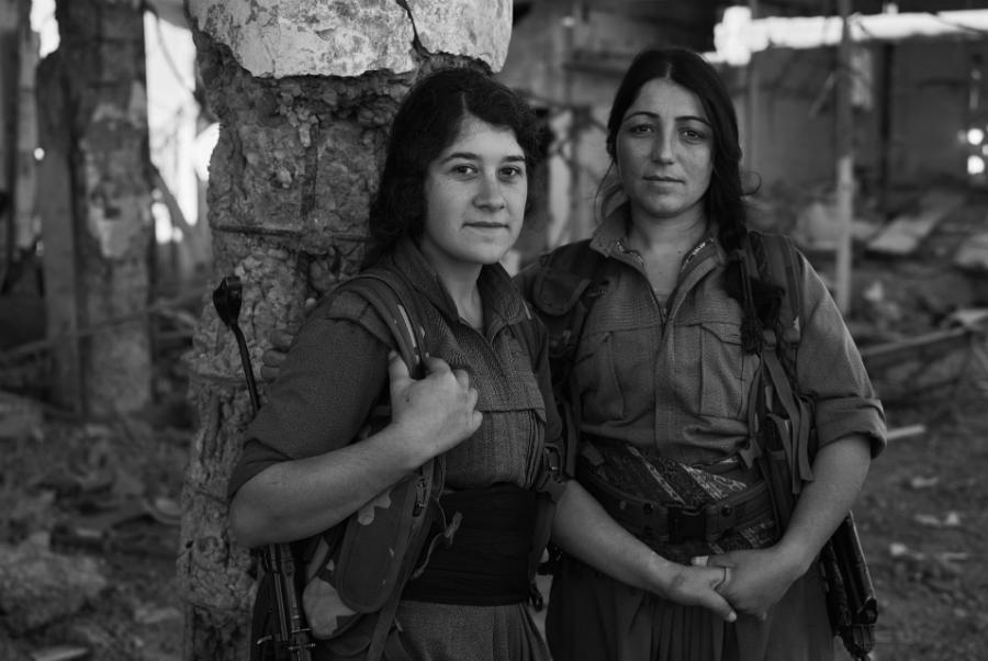 Kurdistan PKK milicianas la-tinta