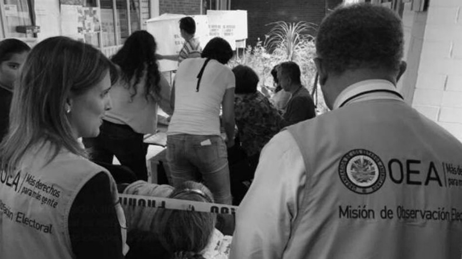 OEA observadores electorales la-tinta