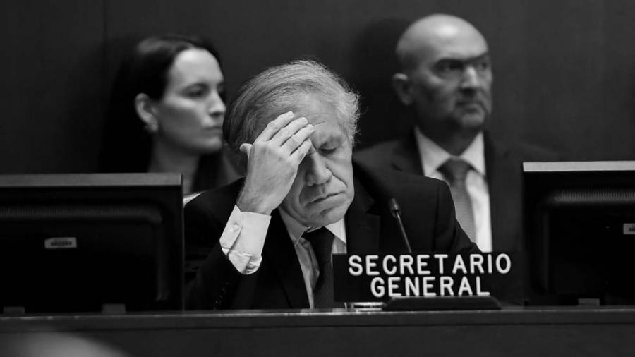OEA secretario general Luis Almagro la-tinta