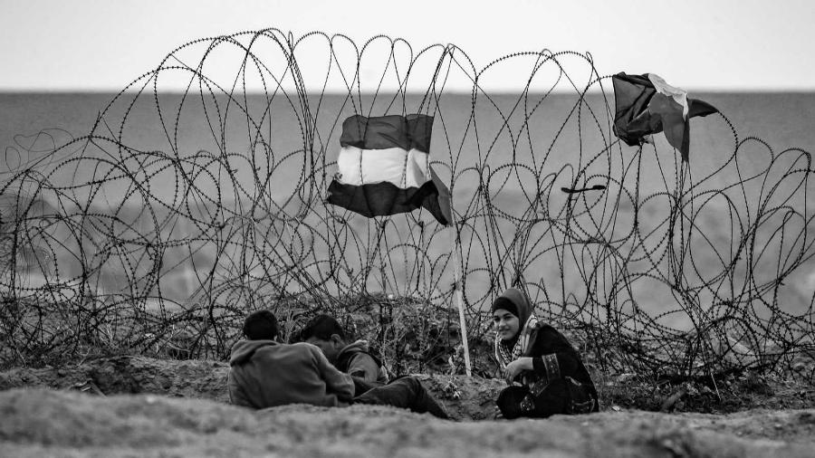 Palestina Franja de Gaza bloqueo maritimo la-tinta