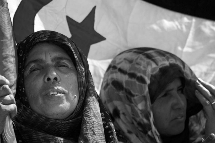 Sahara Occidental mujeres luchadoras la-tinta