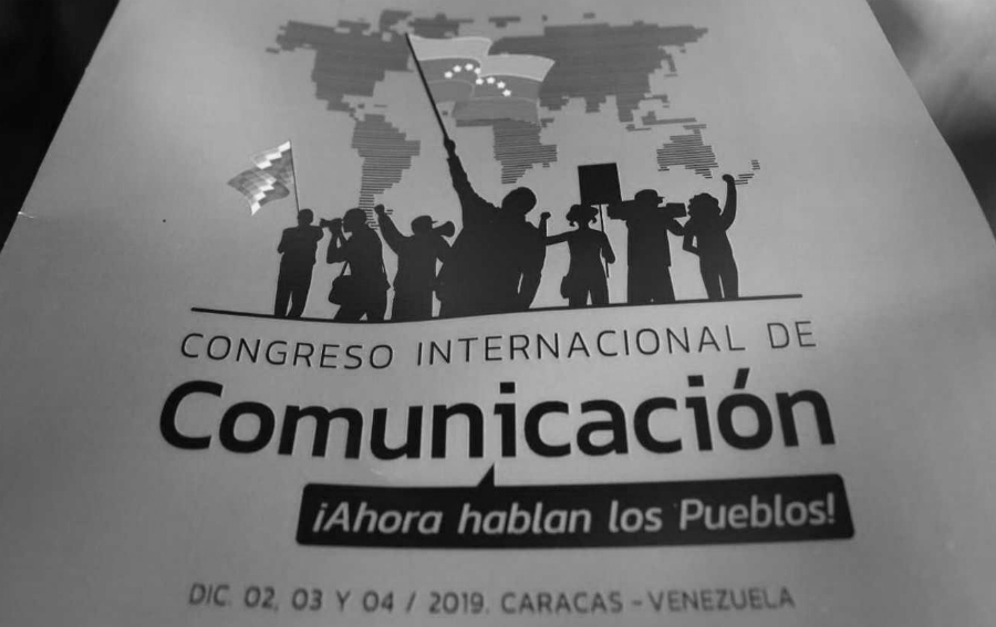 Venezuela Afiche Congreso de Comunicacion la-tinta