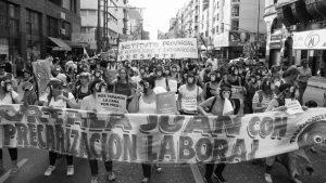 Trabajadorxs precarizadxs de la SeNAF protestan contra vacaciones compulsivas