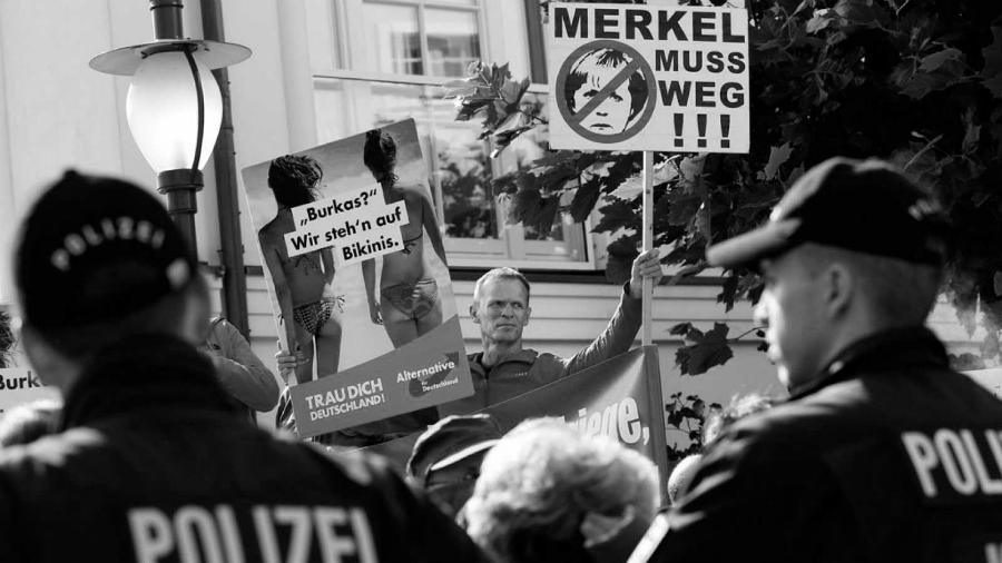 Alemania Alternativa neonazis la-tinta