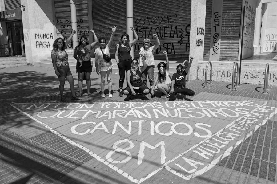 Chile coordinadora feminista 8M la-tinta