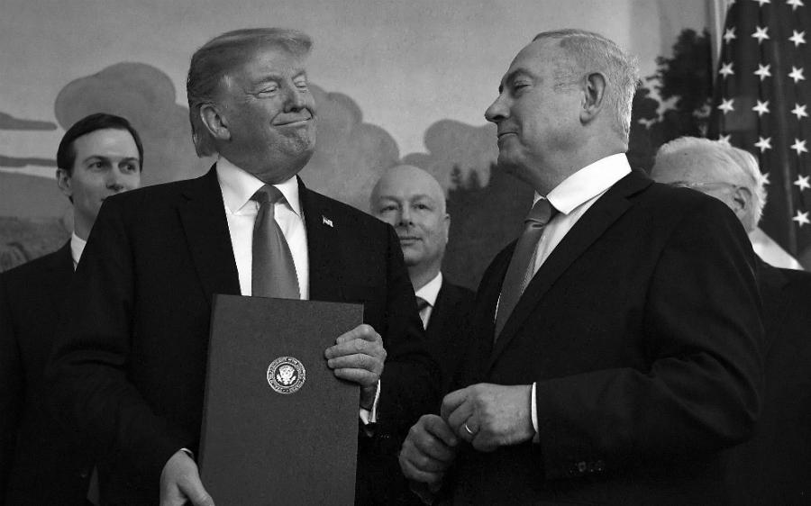 Estados Unidos Israel acuerdo del siglo la-tinta