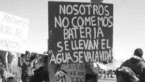 #SemanaDelAgua: basta de vulneración de derechos por parte del modelo extractivista