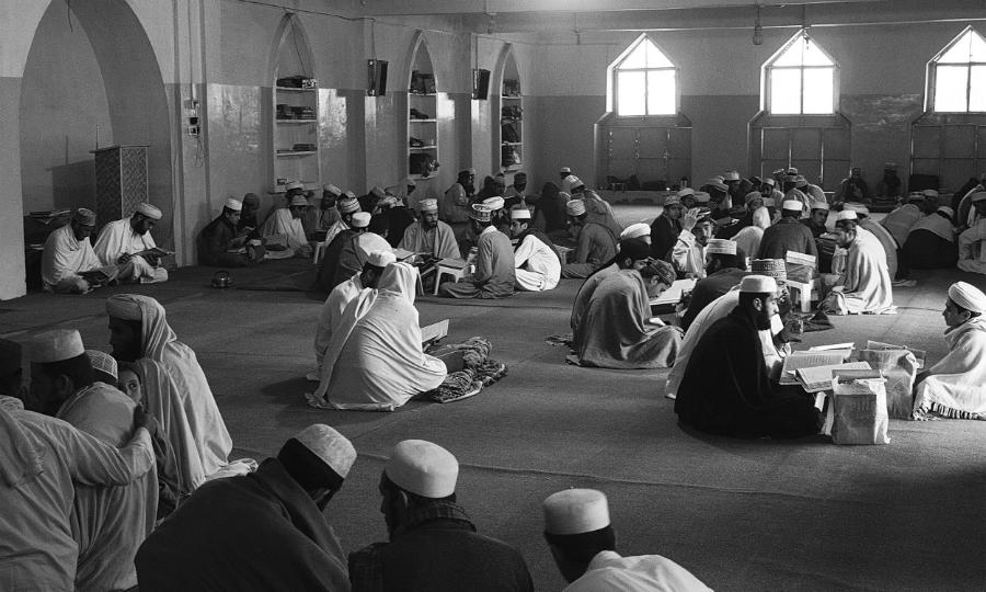Medio Oriente madrasa la-tinta