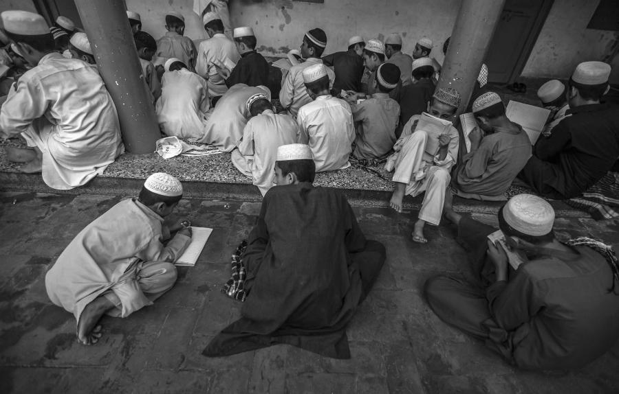 Pakistan madrasa niños la-tinta