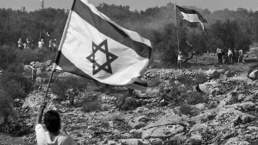 Palestina banderas la-tinta