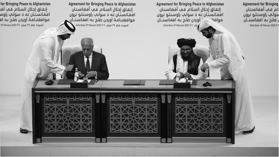 Afganistan Taliban Estados Unidos acuerdo de paz