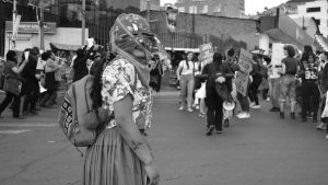 "8M en Bolivia: ""Añez golpista, tú eres terrorista"""
