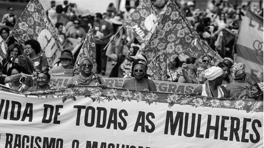 Brasil 8M marcha en Brasilia