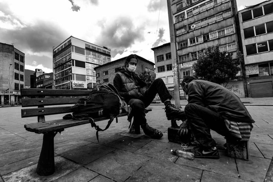 Colombia Bogota coronavirus trabajo informal la-tinta