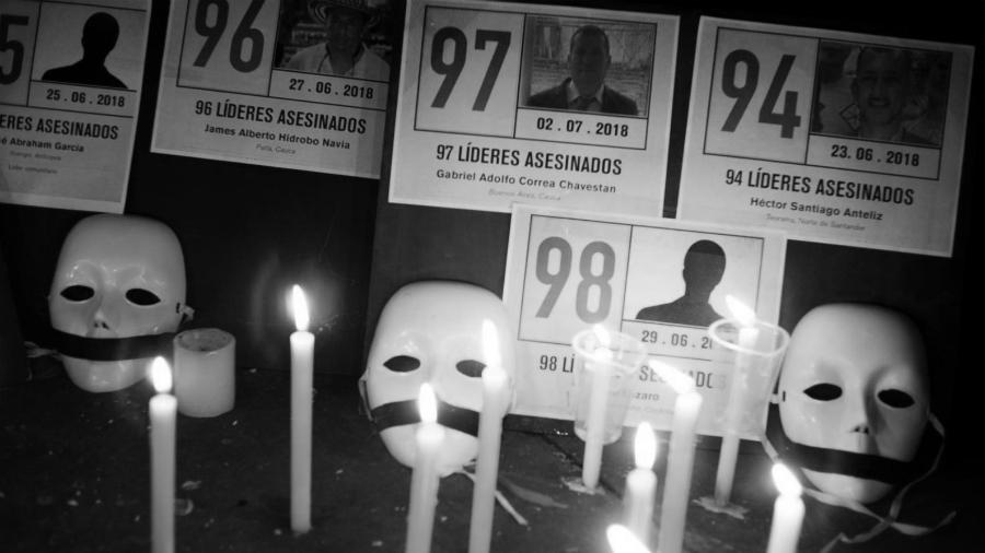 Colombia asesinato lideres sociales la-tinta