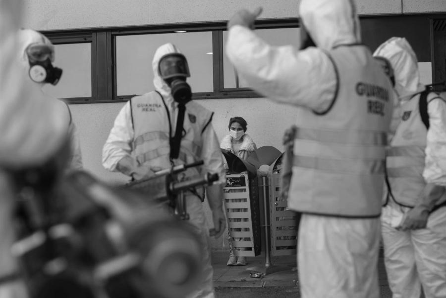 España coronavirus medicos pacientes la-tinta