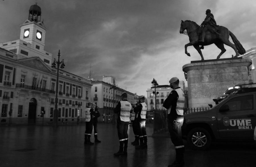 España cuarentena coronavirus la-tinta