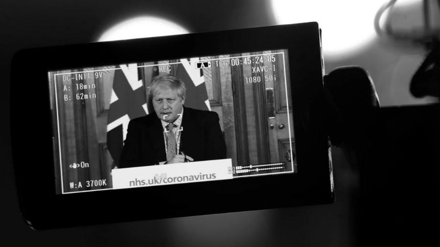 Gran Bretaña coronavirus Boris Johnson la-tinta