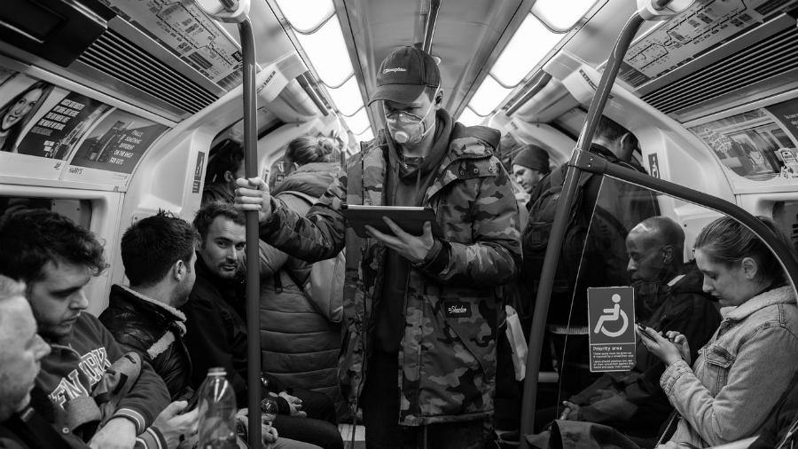 Gran Bretaña coronavirus metro la-tinta
