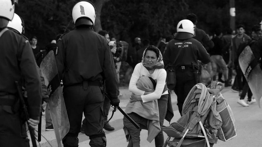 Grecia frontera refugiada la-tinta