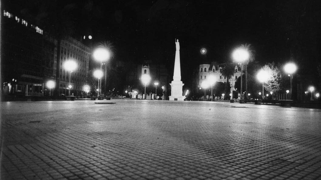 La plaza sin un alma_portada