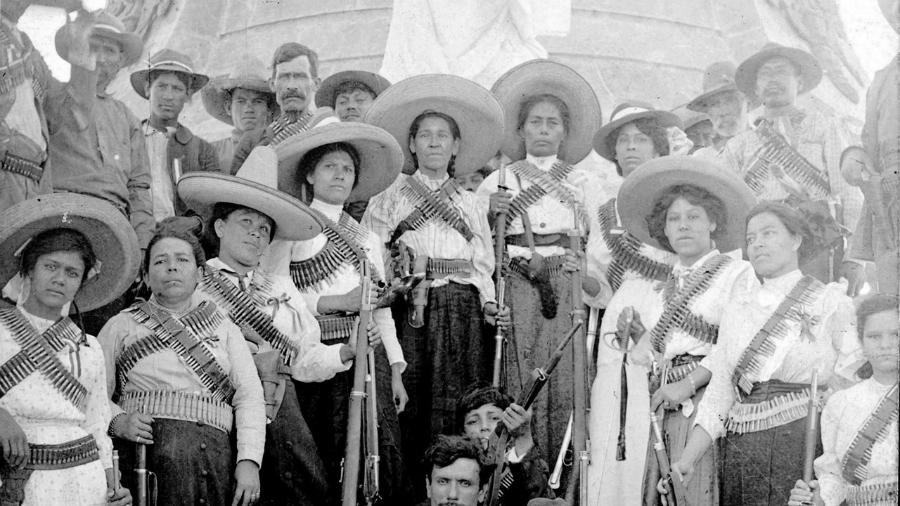 Mexico revolucion soldaderas la-tinta