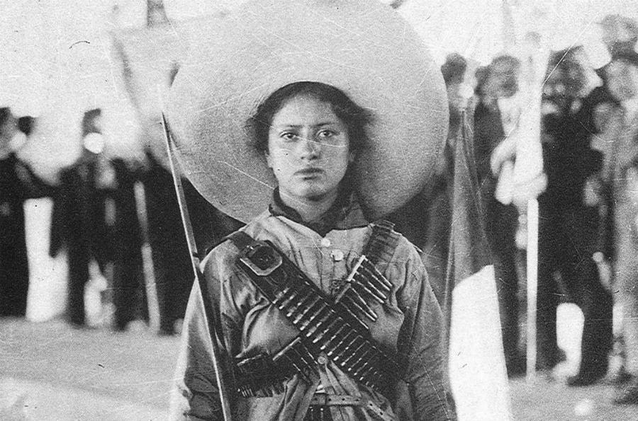 Mexico soldadera la-tinta