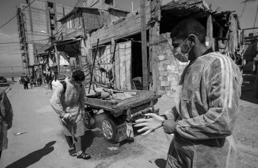 Palestina Gaza coronavirus pobreza la-tinta