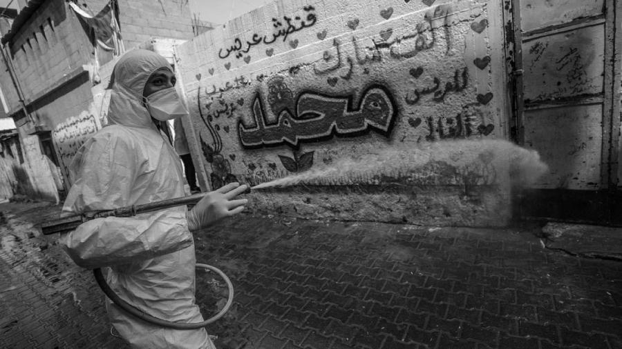 Palestina coronavirus Gaza la-tinta