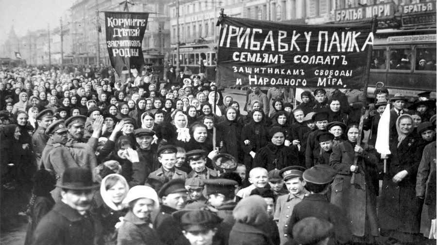 Rusia revolucion bolchevique la-tinta