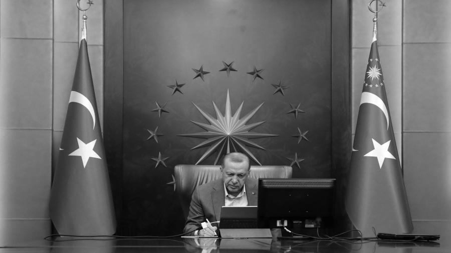 Turquia presidente Erdogan coronavirus la-tinta