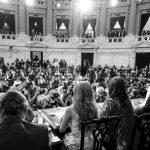 Apertura de sesiones: las palabras del presidente, las respuestas del pueblo
